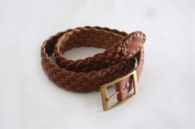 """Picture of 1½"""" eight strand plaited belt"""